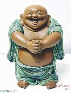 "Buddha Collection Chinese Ceramic / Porcelain Figurine Statue ""Congratulation"""