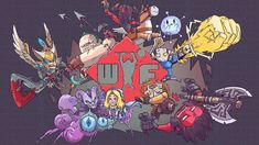 wtf by louissry on DeviantArt Dota 2 Iphone Wallpaper, Sticker Bomb Wallpaper, 4k Wallpaper For Mobile, Graphic Wallpaper, Hd Wallpaper, Wallpapers, Dota 2 Heroes, Rogue Knight, Character Art