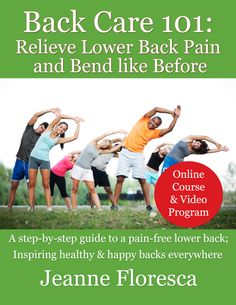 Back Care Relieve Lower Back Pain -- Get exercise programs to relieve QL syndrome, sciatica, or piriformis syndrome, and other lower back pains. Lower Back Pain Relief, Low Back Pain, Piriformis Syndrome, Back Pain Exercises, Facial Massage, Hip Workout, Sciatica, Gain Muscle, How To Get Rid