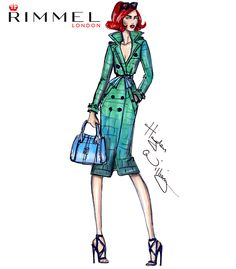 #LFW day 4 look for @rimmellondonuk . You can never go wrong with a trench! Inspired by the @burberry show today.