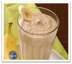 Chunky Monkey Shakeology Recipe -1 scoop chocolate Shakeology 1/2 cup vanilla almond milk (or skim milk) 1/2 cup water 1/2 banana (best if frozen…I don't know why but it's true) 1 tbsp natural peanut butter (or tbsp PB2) 1/3 cup ground granola Tall glass full of ice @Jennyy71