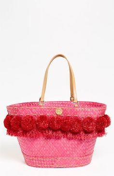 Tory Burch 'Norah - Beachy' Bucket Tote available at Nordstrom. 395