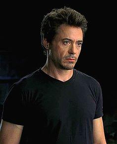 """Robert Downey Jr. - screen test for """"Iron Man,"""" 2008"""