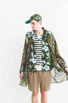 "nepenthes 2013 spring summer pattern chasing lookbook 1 NEPENTHES SS13 ""Pattern Chasing"" Lookbook"