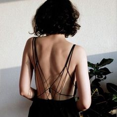 "allisonrosecast: "" kapuscinska: "" cotton jumpsuit with open back 2015 © Katarzyna Kapuścińska "" Wow. Style Outfits, Mode Outfits, Fashion Details, Look Fashion, Fashion Design, Fashion Guide, Fall Fashion, Fashion Black, Korean Fashion"