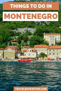 I recently spent 4 days in Montenegro and in this guide, I give you tips on things to do in Montenegro itinerary. (Where to stay, What to see etc) Europe Travel Guide, Backpacking Europe, Travel Guides, Travel Abroad, Montenegro Travel, Montenegro Kotor, Best Holiday Destinations, Travel Destinations, Cool Places To Visit