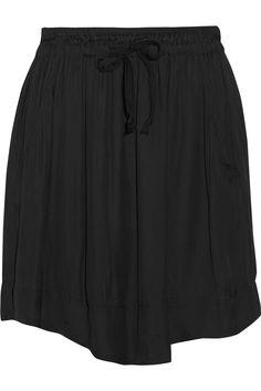 ETOILE ISABEL MARANT Brick Voile Mini Skirt. #etoileisabelmarant #cloth #skirt