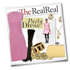Summer Party Dressing With The RealReal: Contest Entry by clovers-mind on Polyvore featuring Christian Dior, Chanel, Bottega Veneta, Chaumet and Kate Spade