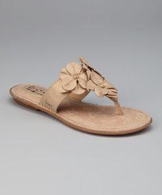 b.o.c  -  Nude Pearl Euphoria Thong Sandal