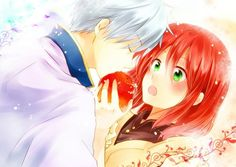 Akagami no Shirayuki-hime - Snow White with the Red Hair - Zen and Shirayuki