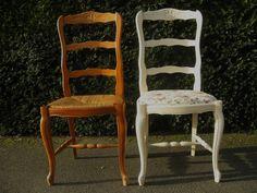 Une chaise shabby, et de une...