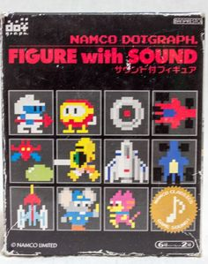 Namco Dotgraph MAPPY Figure with Game Sound JAPAN NES FAMICOM