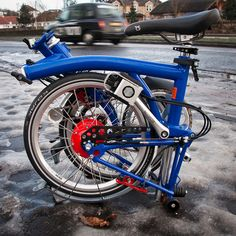 Custom Rohloff Brompton 1 by Ben Cooper, via Flickr