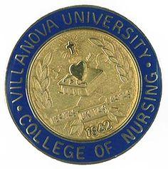 Villanova University College of Nursing Pin