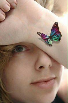 #RainbowButterfly .