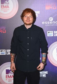 Ed Sheeran LETS JUST LOOK AT ED INSTEAD