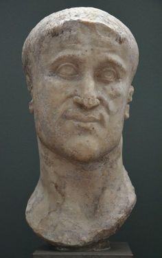 Roman Emperor Constantius Chlorus (father of Constantine the Great), c. Ancient Rome, Ancient Art, Ancient History, Greek History, Roman History, Collections D'objets, Constantine The Great, Roman Era, Roman Sculpture
