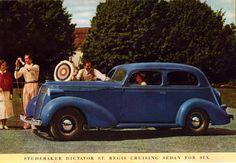 1937 Studebaker Dictator St. Regis Cruising Sedan