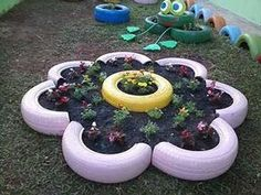 Resultado de imagen para decoracao artesanal para jardim