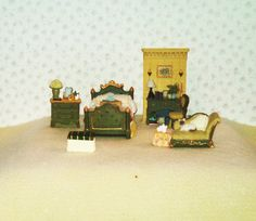 Vintage Miniature Dollhouse Furniture Master by tfttreasures