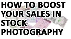 In this video, I am showing you a very powerful little trick that will boos your sales in stock photography. https://youtu.be/q9HsW1-rCMc