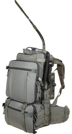 NICE COMM 2 US - DesignED specifically to carry a 117 or equivalent radio, all its accessories and a Toughbook laptop, this NICE Frame communications pack protects and mobilizes all of your electronic gear