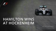 #GermanGP #F1 2016 Lewis Hamilton, F 1, Profile, Motorsport News, User Profile
