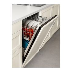 IKEA RENLIG Fully integrated dishwasher, can order with no panel and possibly use our own