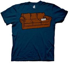THE BIG BANG THEORY — COUCH RESERVED FOR ME — MENS TEE « Clothing Impulse