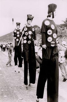 Nostalgia 600 dpi scan  Jugglers Heineken Festival Marilyn Manson show Bologna 1999