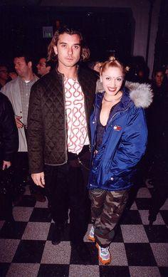 Gwen Stefani and Gavin Rossdale in 1997.