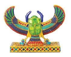 scarab. love the colors