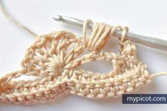 MyPicot is always looking for excellence and intends to be the most authentic, creative, and innovative advanced crochet laboratory in the world. Crochet Shell Stitch, Crochet Lace Edging, Freeform Crochet, Knit Or Crochet, Cute Crochet, Crochet Baby, Crochet Placemat Patterns, Crochet Stitches Patterns, Crochet Designs