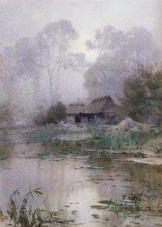 Yoshida Hiroshi watercolor