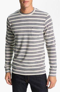Obey 'Cabe' Stripe Crewneck Sweater | Nordstrom