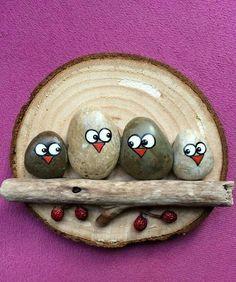 Rendez vivantes des pierres grâce à de la peinture, et créez les plus belles décos pour votre intérieur ! - DIY Idees Creatives
