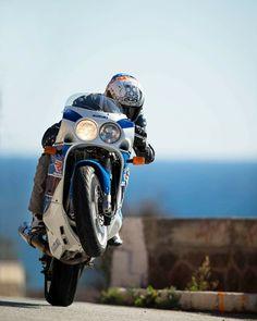 PonPon. Motos & Motards. Suzuki GSXR.