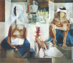 Vicente Silva Manansala (January 1910 - August was a Philippine cubist painter and illustrator. Manansala was born in. Singapore Art Museum, Value Painting, Filipino Art, Philippine Art, Memorial Museum, Art Database, Cubism, Artists Like, Art Forms