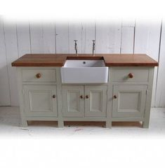 Kitchen Sink Units Free Standing Kitchen Sink Unit By Eastburn Country Furniture Notonthehighstreet Kitchen Sink Units The Kitchen Sink Units Kitchen Sink Units above is one o… Kitchen Sink Units, Kitchen Sink Design, New Kitchen, Kitchen Ideas, Eclectic Kitchen, Kitchen Stuff, Free Standing Kitchen Units, Unfitted Kitchen, Ideas 2017