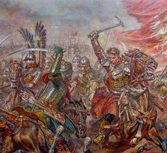 Polish winged hussar in melee combat with Turkish cavalry Military Art, Military History, Modern Warfare, Dark Ages, Medieval Fantasy, Renaissance, Illustrators, Concept Art, Fiction