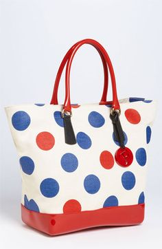 Furla 'Bon Bon - Extra Large' Polka Dot Shopper available at #Nordstrom
