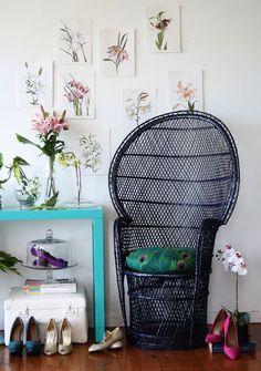 HOME & GARDEN: 70 inspirations pour mettre un fauteuil Emmanuelle dans sa déco !