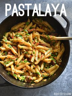 Celebrate like you're in Louisiana with this easy, filling, and inexpensive one pot favorite, Pastalaya. It's the shortcut pasta version of Jambalaya! @budgetbytes