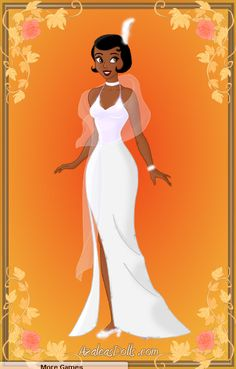 Tiana white 'Almost There' dress by zozelini.deviantart.com on @deviantART