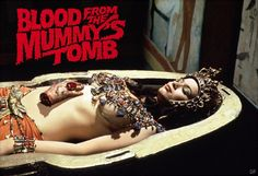 """Hammer horror: """"Blood from the Mummy's Tomb"""""""