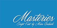 Masterics Personal Use font by Måns Grebäck - FontSpace