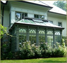 Victorian Conservatory Palm House by Tanglewood Conservatories...add to existing structure