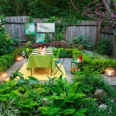 Party-ready yard