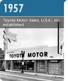 1000 images about our young adult years the 50 39 s on for Toyota motor company usa
