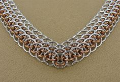 Top 10 Chainmaille weave pattern styles - Dragonscale